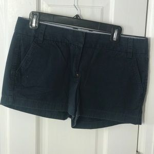 JCrew Navy Broken In Chino Shorts